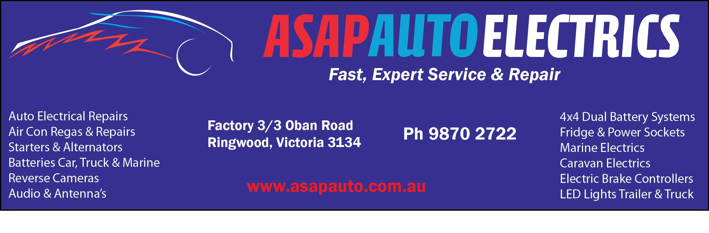 ASAP Auto Electrics